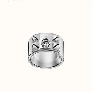 Jewelry - Hermès Sterling silver ring